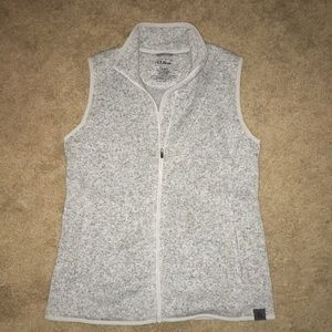 LL BEAN Sweater Fleece Vest